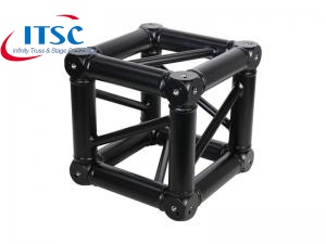 black truss box corner