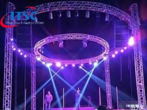 Light Weight Circular Lighting Truss
