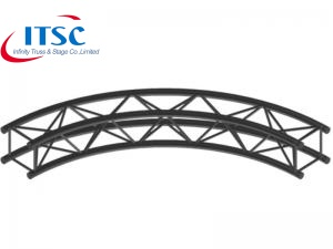 curved truss bridge