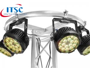 Kualitas Tinggi Circular Global DJ Rig Ring Lighting Truss