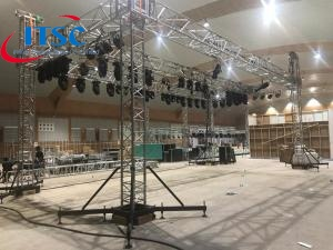 aluminum beam truss lighting system