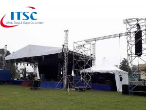 7m Stage Triangular Roof Box Truss for Line Arrray -ITSC Truss