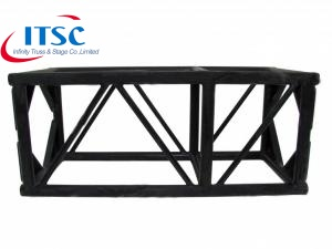 520mm Black Entertainment Box Truss Atas untuk Shed
